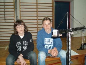 Cristian Šumaher i Nenad Lalic