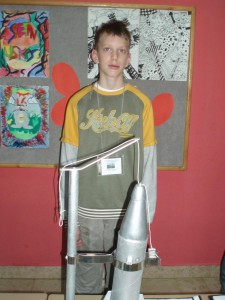 Filip s raketom